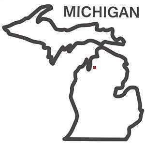 michigan-outline